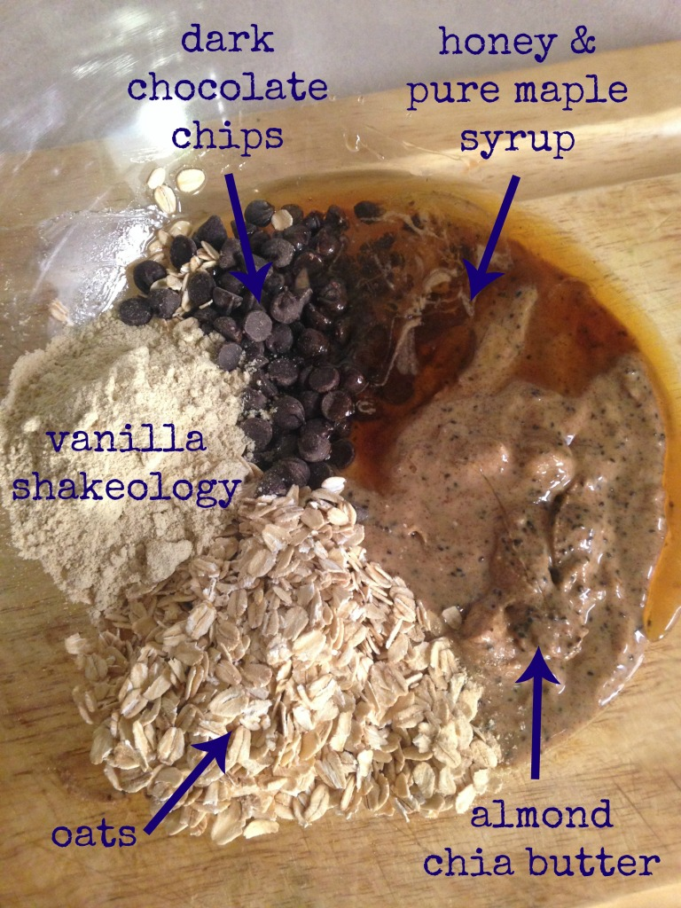 Almond Chia Ingredients