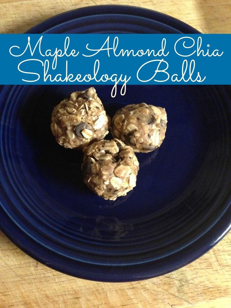 Shakeology Balls